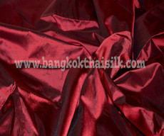 Dark Red 100% Authentic Silk Fabric