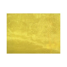 Sheer Mirror Organza - Bright Yellow
