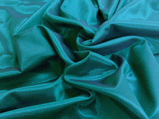 Silkatene Faux Silk Fabric - Teal