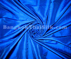 "Cobalt Blue Faux Silk Taffeta 60""W Fabric"