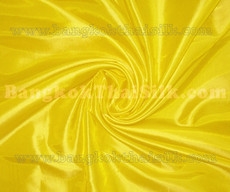 "Yellow Faux Silk Taffeta 60""W Fabric"