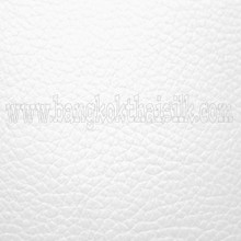 Faux Calf Leather Fabric - White
