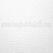 Faux Calf Leather Fabric - White