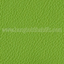 Faux Calf Leather Fabric - Leaf Green