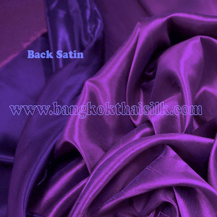 1118a01d20e2d Heavy Silky Dupioni with Satin Back Fabric - Royal Purple - Bangkok ...
