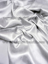 Heavy Silky Dupioni with Satin Back Fabric - Smoke Gray