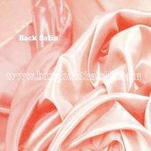 Heavy Silky Dupioni with Satin Back Fabric - Orange Peach