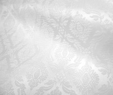 "Thai Silk Damask 40""W Fabric - White"