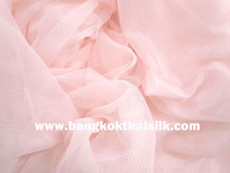 "Soft Net Stretch Tulle 60""W - Coral"
