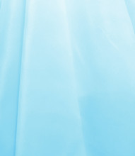 "Organdy Faux Silk Fabric 60""W - BABY BLUE"