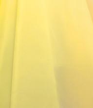 """Organdy Faux Silk Fabric 60""""W - YELLOW"""