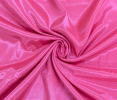 Silkatene Faux Silk Fabric - Hot Pink