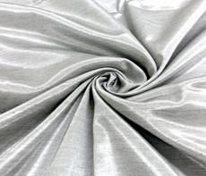 Silkatene Faux Silk Fabric -Silver Gray