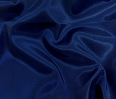 Silkatene Faux Silk Fabric - Dark Blue