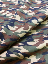 """Army Camouflage Print 100% COTTON 44""""W Fabric Material"""