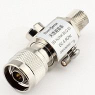 Feeder Lightning Arrester N Base Station Antennas Weak Connector Arrester N Male To N Female Plug Protection DC-5.8GHz