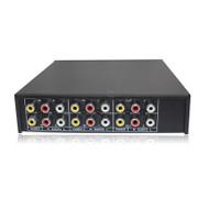 4 Channel AV Audio Video Splitter 4in 2out