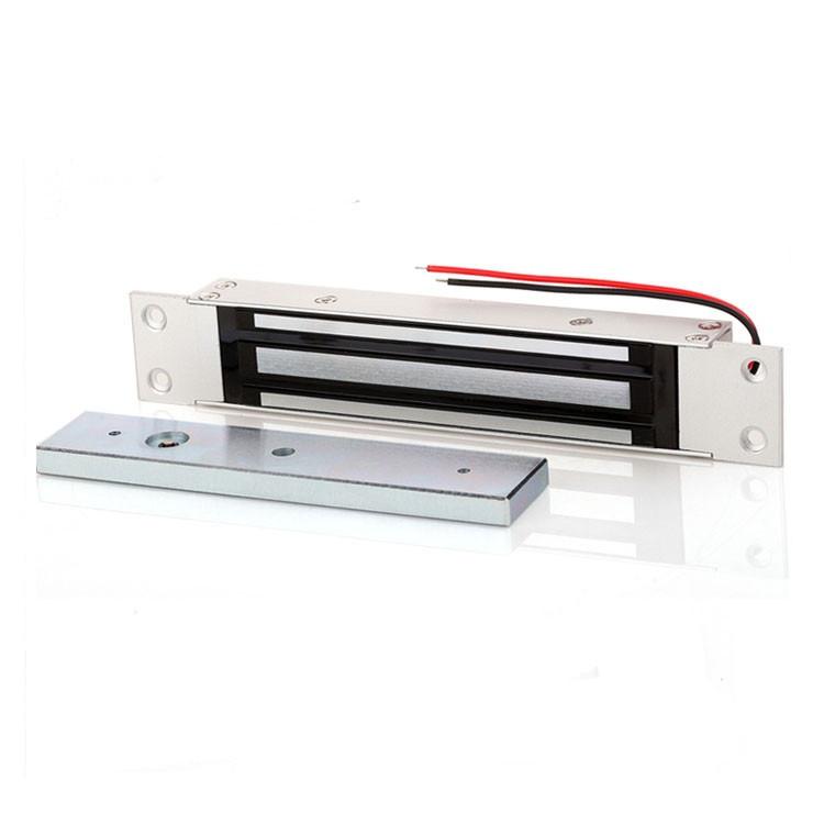 DC 12V Electromagnetic lock 280 kg holding force Embedded electric magnetic lock for wooden door//metal door//glass door//fire door