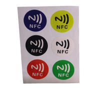 6 Piece/lot Ntag213 Universal NFC Sticker for PHONE 13.56mhz ISO1443A