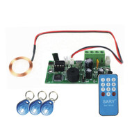 125KHZ RFID embedded entrance access control system main board /Building intercom access board +10cards