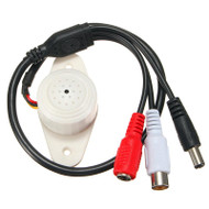 Professional Sound Waterproof Microphone Pickup For Security CCTV