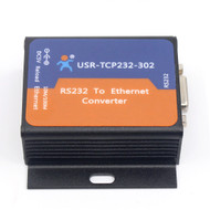 USR-TCP232-302 Tiny Size Serial RS232 RS485 to Ethernet TCP IP Server Module Ethernet Converter Support DHCP/DNS