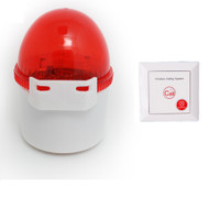 Wireless Calling System Emergency Alarm 100db horn