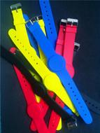 13.56Mhz FM11RF08 MF1 S50 1K NFC Bracelet Wristband RFID IC Wrist Band Adjustable RFID Bracelet