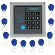 RFID access control system kit T11 digital lock+3A/12V power supply+electric strike lock+10pcs ID key cards
