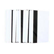 100x blank CR80 ID ISO PVC Credit Card LoCo 1-3 Magnetic Stripe PVC Card free shipping