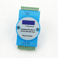 Isolated RS232 turn two RS485 2 way RS485 hub Splitter repeater UT5202 1 order