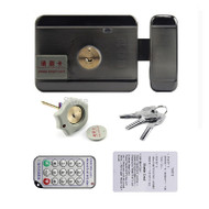 card integrated lock Remote electric lock Double-sided card and unlock double-head lock