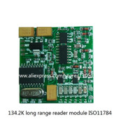134.2K long range Rfid module ISO11784 EM4305,HITAG256,EM1001 Card Arduino reader