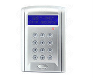 RFID EM 125kHz Smart Card Reader Access Control 2500 users RS485,WG readers extendable,Wiegand26 output,LCD reader +10 id card