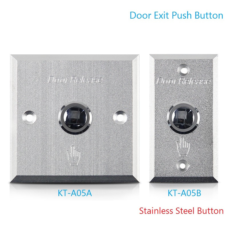 Door Door Switch Button Stainless For Access Control High quality Silver Exit