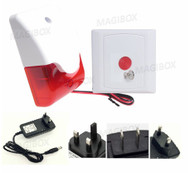 12V light alarm Toilet alarms disabled medical alarm emergency button Kit