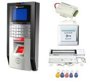 Single Door Fingerprint and RFID Card Access Control System & Time Attendance Kits+Magnetic lock