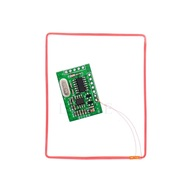RFID EM4305 FDX-B Animal Tag Reader Module UART Interface Support 134.2Khz FDX-B EM4305 Chip