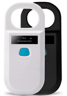 Portable Animal Tag Ear Pet Microchip Reader CKU Chip ISO11785/84 FDX-B FDXB Scanner