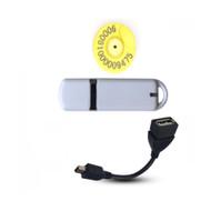 134.2Khz/125KHz EM4305/OTP134 RFID USB Reader FDX-B
