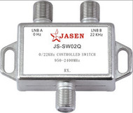 Controlled switch satellite signal switch 0/ 22K 2IN 1OUT  JS-SW02Q