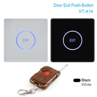Touch Exit Button Remote Control Infrared Sensing Surface Plexiglass Waterproof LED Indicator Exit Switch Access Control system