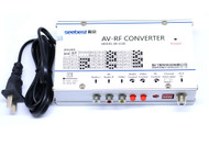 RF converter AV to RF Support Multi-Standard PAL / NTSC / CECAM