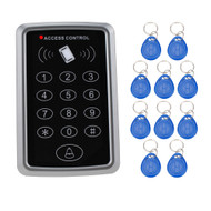 RFID Proximity Access Control With digital Keypad support1000 Users+ 10 Key Fobs For RFID Door Access Control System