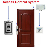 Door Fingerprint Access Control System + Strike Lock NO +Power Supply + Switch