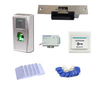 Waterproof Fingerprint Access Control System Time Attendance with ID/EM Reader