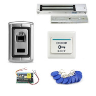 Fingerprint & ID/EM Reader Door Access Control System Waterproof Lock Switch
