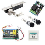 Remote Control Door Access Control System Electric Lock Power Supply
