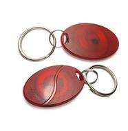 100piece/lot 125KHz RFID ID EM4100 EM Proximity Induction Tag Token Keyfob