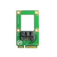 mSATA SSD Slot M.2 NGFF SATA to 7Pin SATA3.0 6Gbps Converter Adapter Card MAC OS